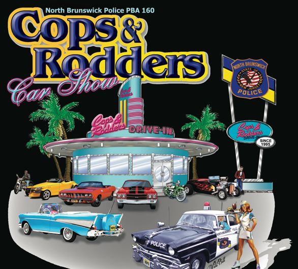 North Brunswick Cops And Rodders Car Show